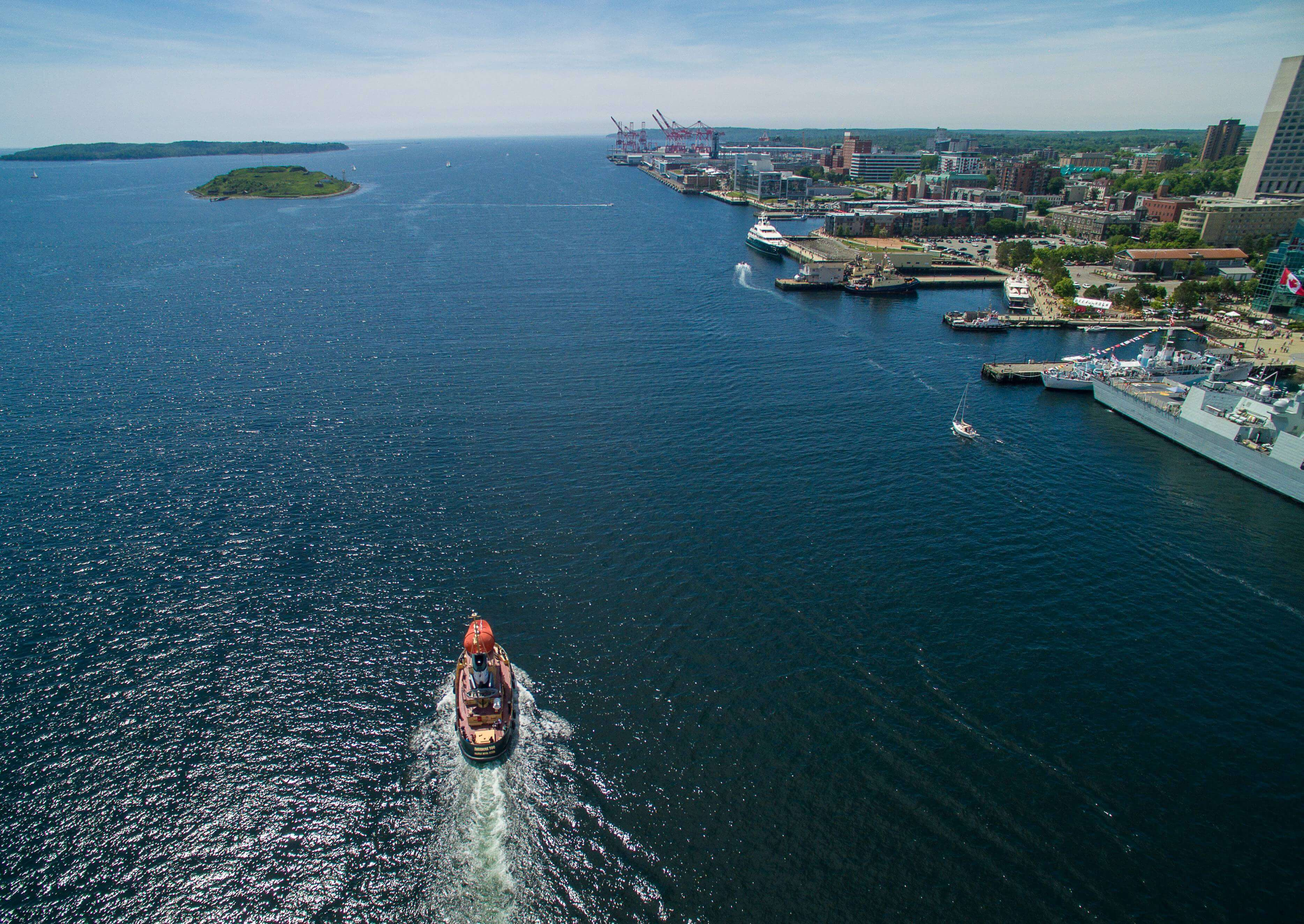Theodore Tugboat in Halifax Harbour - High Resolution