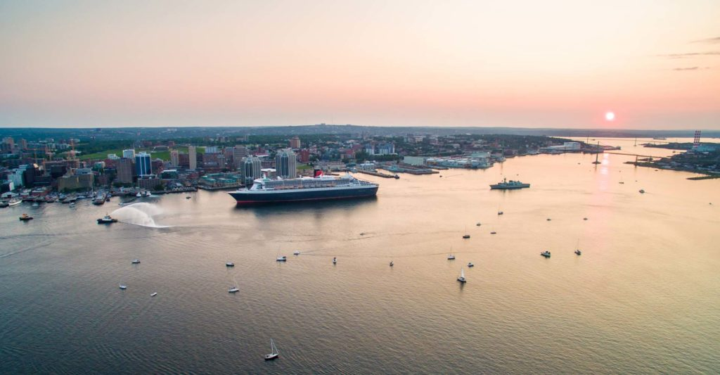 Cruise Chip in Halifax Harbour