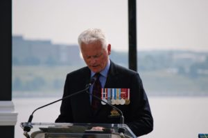 Reading at Remembrance Day Ceremony at the Waterfront