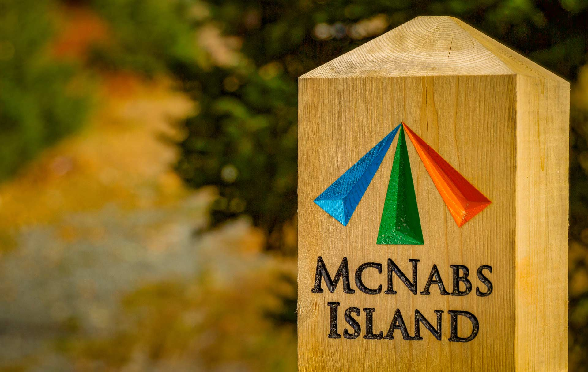 McNabs Island Post Marker