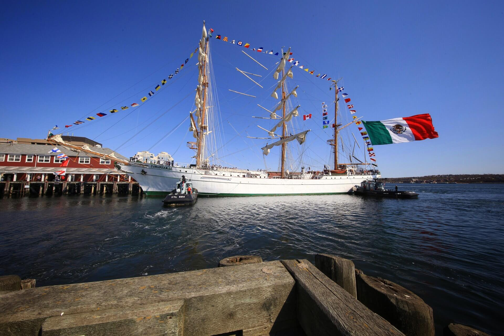 Tall Ship Cuauhtemoc