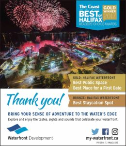 Best of Halifax Awards Poster