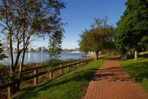 Walking Trails along the waterfront in Dartmouth