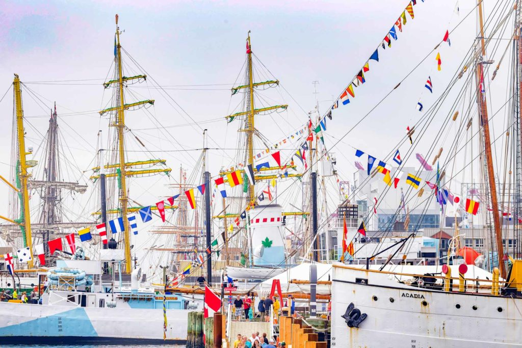 Tall Ships at dock