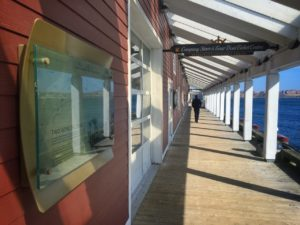 Exterior view of shops at Halifax Waterfront